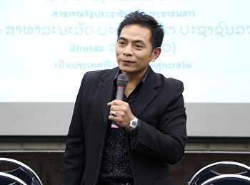 "January 27th, 2018 honored by Dr. Nitinan Phanthawee lectured in General Education in topic of "" Laos LPD Economics"""