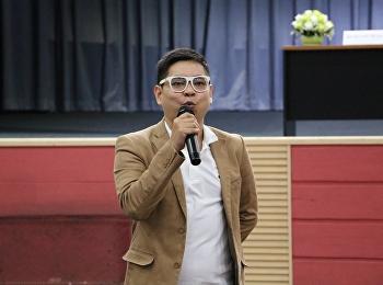 """วันที่ 29 มกราคม 2561 ได้รับเกียรติจาก อาจารย์คุณานนท์ เนียวกุล บรรยายรายวิชาศึกษาทั่วไป หัวข้อ """" การพูดภาษาอังกฤษอย่างไรให้สุภาพ """""""