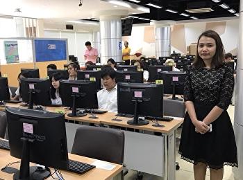 สำนักวิชาการศึกษาทั่วไปและนวัตกรรมการเรียนรู้อิเล็กทรอนิกส์จัดสอบกลางภาค (ย้อนหลัง) ภาคเรียนที่ 2/2560 ระหว่างวันที่ 19 - 20 มีนาคม 2561