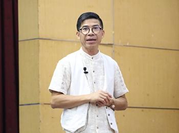 """วันที่ 22 มีนาคม 2561 ได้รับเกียรติจาก ดร.กัมปนาท บัวฮมบุรา พร้อมคณะ บรรยายรายวิชาศึกษาทั่วไป หัวข้อ """" ทักษะชีวิตฯ ศตวรรษที่ 21 """""""