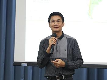 """วันที่ 31 พฤษภาคม 2561 ได้รับเกียรติจาก รองศาสตราจารย์ ดร.จักษ์ พันธ์ชูเพชร บรรยายรายวิชาศึกษาทั่วไป หัวข้อ """"การเมืองไทยกับบริบทโลก"""""""
