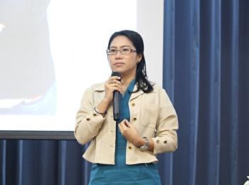 """วันที่ 1 มิถุนายน 2561 ได้รับเกียรติจาก ดร.เลิศจัณฑา สีเหลืองสวัสดิ์ บรรยายรายวิชาศึกษาทั่วไป หัวข้อ """"วิทยาศาสตร์และเทคโนโลยีเพื่อพัฒนาคุณภาพชีวิต"""""""