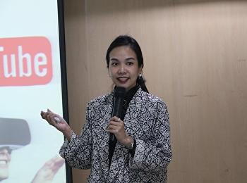 """วันที่ 11 มิถุนายน 2561 ได้รับเกียรติจาก อาจารย์วรรณพร ชูจิตารมย์ บรรยายรายวิชาศึกษาทั่วไป หัวข้อ """"เทคโนโลยีแอพพลิเคชั่นบนอุปกรณ์พกพาและ GADGET"""""""