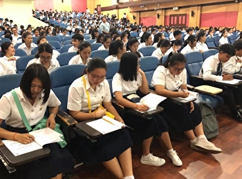 วันแรกของการเปิดการเรียนการสอนรายวิชาศึกษาทั่วไป ประจำปีการศึกษา 2561