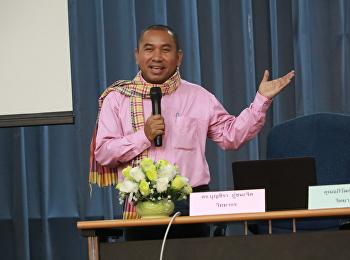 """วันที่ 8 กันยายน 2561 สำนักวิชาการศึกษาทั่วไปฯ ได้รับเกียรติจาก อาจารย์อภิวัฒ จ่าตา และ ดร.บุญชิรา ภู่ชนะจิต นักข่าวพิธีกรช่องไทยรัฐทีวี บรรยายหัวข้อ""""การใช้ชีวิตในสังคมไทยยุคดิจิทัล """""""