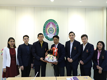 Administrators, faculty, staff Welcomed Tadpraya Rajabhat University Council Suan Sunandha Rajabhat University On the occasion of visit to the International College at The Office of General Education and Innovative Electronic Learning