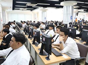 บรรยากาศสอบปลายภาคเรียนฤดูร้อน 2560 (SUMMER) หมวดรายวิชาศึกษาทั่วไป