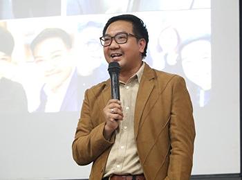 """วันที่ 14 มิถุนายน 2561 ได้รับเกียรติจาก ดร.ปรัชญา เปี่ยมการุณ บรรยายรายวิชาศึกษาทั่วไป หัวข้อ """"สังคมไทยกับเทคโนโลยี"""""""