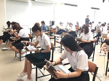 บรรยากาศการสอบรายวิชาศึกษาทั่วไป ปลายภาคเรียน 1/2561 ห้องสอบ 1731