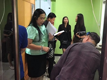 Cleanliness and good environment committee investigate the cleanliness of the building and the environment