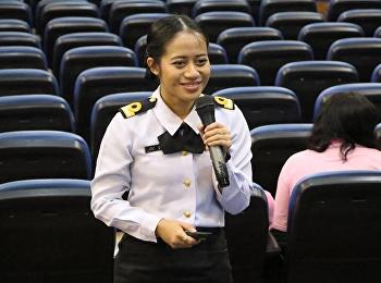 วิชาการใช้ภาษาไทย โดยได้รับเกียรติจาก เรือโท หญิง สุธิญา พูนเอียด