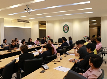 GE Suan Sunandha Held a meeting to prepare for the finalterm exam 1/2019