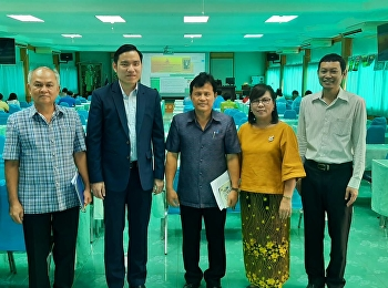 GE Suan Sunandha created cooperation in learning management networks to Pichit Suphanburi Primary Educational Service Area 2.