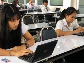 บรรยากาศการสอบรายวิชาศึกษาทั่วไปฯ ปลายภาคเรียนเรียนที่ 1/2562