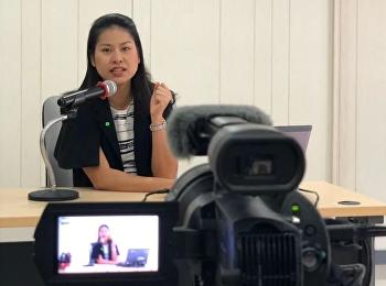 จีอีสวนสุนันทา ปฏิบัติตามมาตราการ จัดการเรียนการสอนรูปแบบออนไลน์ รายวิชาศึกษาทั่วไป รายวิชาGEL0101 การใช้ภาษาไทย